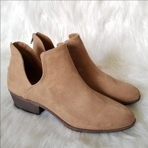 💖 New Tan Ankle Boots Booties size 10